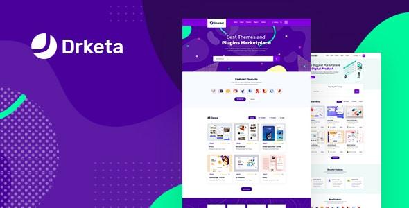 Digital Marketplace template